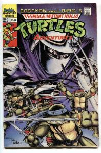 TEENAGE MUTANT NINJA TURTLES ADVENTURES #1 First ISSUE  1989