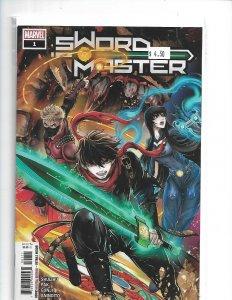 Sword Master #1 Main Cover Marvel Comics 2019  nw11