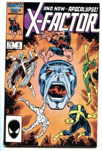 X-FACTOR #6-comic book First appearance Apocalypse!-1986-NM-