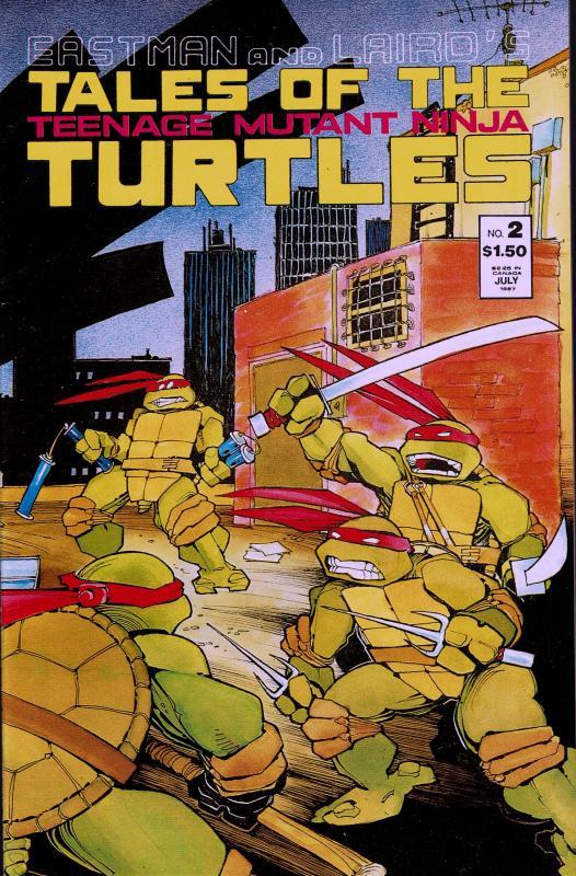 Tales of the Teenage Mutant Ninja Turtles #2 - NM