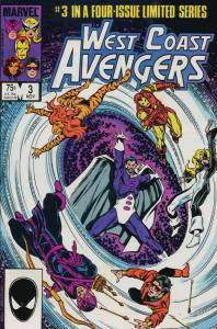 West Coast Avengers (Ltd. Series) #3 FN; Marvel | save on shipping - details ins