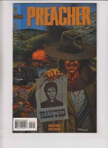 Preacher #2 VF/NM vertigo comics - garth ennis - steve dillon - 1st arseface