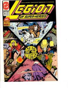 8 Legion Of Super-Heroes DC Comic Books # 13 15 14 16 17 18 19 20 RJ1
