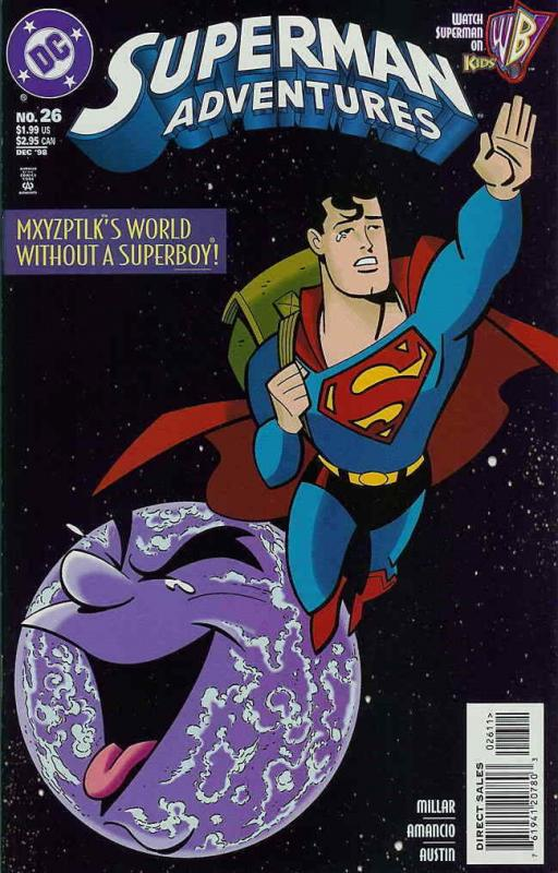 Superman Adventures #26 VF/NM; DC | save on shipping - details inside