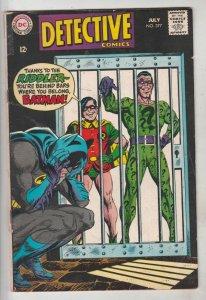 Detective Comics #377 (Jul-68) VG/FN+ Mid-Grade Batman, Robin the Boy Wonder
