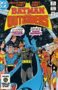 Batman and the Outsiders (1983 series) #1, VF+ (Stock photo)