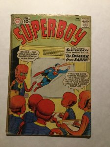 Superboy 88 Good Gd 2.0 Tape On Spine Cover Detached Dc Comics