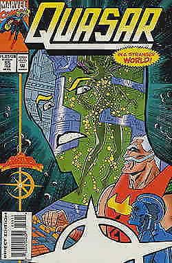 Quasar #55 VF/NM; Marvel | save on shipping - details inside