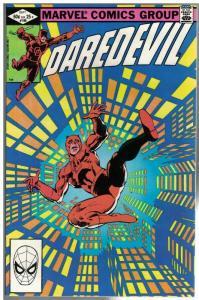 DAREDEVIL 186 F-VF  Sept. 1982