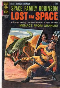 Space Family Robinson, Lost in Space #23 (Aug-67) VG+ Affordable-Grade Will R...