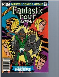 Fantastic Four Annual #16 (1981)