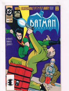 Batman Adventures # 14 VF Rare 2nd Print DC Comic Book Joker Robin Catwoman JH3