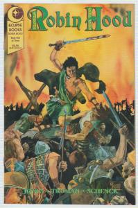 $.99 CENT SALE! - ROBIN HOOD #1 of  3 - ECLIPSE BOOKS - BAGGED & BOARDED