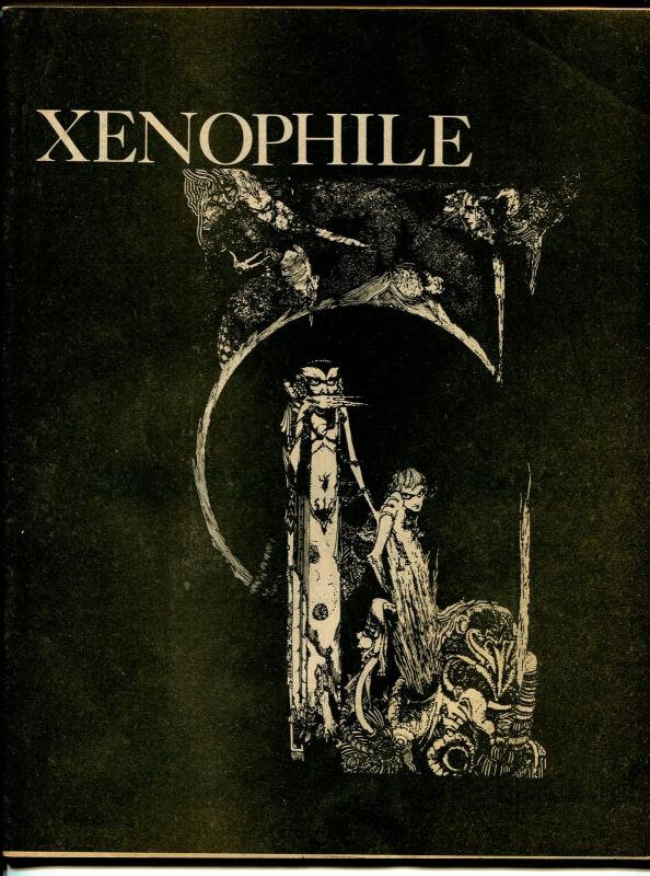 Xenophile #15 1975-top pulp collector fanzine-for sale ads-Pulpcon 4 report-FN