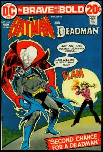 The Brave and the Bold #104 1972- Batman - Deadman VF-