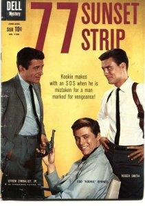 77 SUNSET STRIP-DELL FOUR COLOR #1106-EFREM ZIMBLIST JR-1960-ALEX TOTH ART