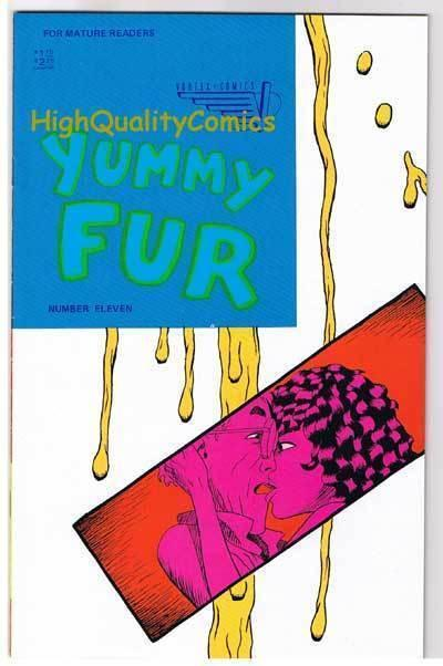 YUMMY FUR #11, VF+, Chester Brown, Indy, Vortex, 1986, more in store