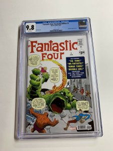 Fantastic Four 1 Cgc 9.8 White Pages Marvel Facsimile Edition