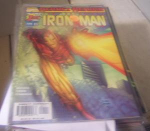 Iron Man #1 (Feb 1998, Marvel) HEROES RETURN KURT BUSIEK