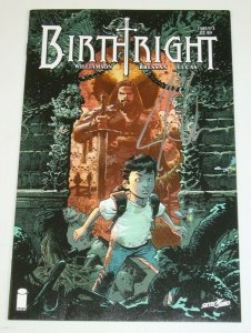 Birthright (Image) #1A VF/NM; signed by Joshua Williamson - Image comics