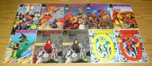 Bloodfire #0 & 1-12 VF/NM complete series + (5) more - super hero with HIV/AIDS