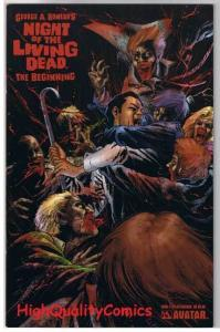 NIGHT of the LIVING DEAD 3, NM, Beginning, George Romero, 2006, Zombies, horror