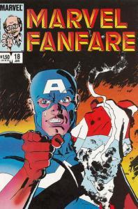 Marvel Fanfare #18 VF/NM; Marvel | save on shipping - details inside