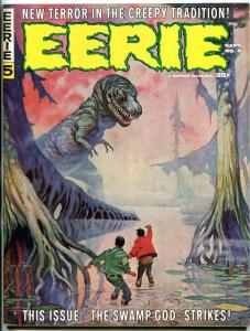 Eerie #5 1966- Frank Frazetta cover-Warren Horror Magazine VG/F