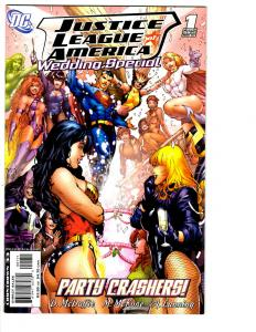 7 Justice League of America DC Comic Books Wedding # 1 # 0 1 2 3 4 5 JLA BH13