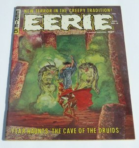 Eerie #6 FN/VF 1966 Silver Age Horror/Science Fiction Magazine Scary Strange