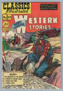 Classics Illustrated 62 (original) Aug 1949 VG+ (4.5)