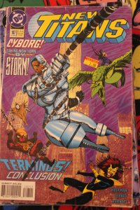 New Teen Titans 107 VG