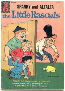 Little Rascals Spanky & Alfalfa- Four Color Comics #1224 1961 G