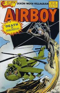 Airboy #43 VF/NM; Eclipse | save on shipping - details inside