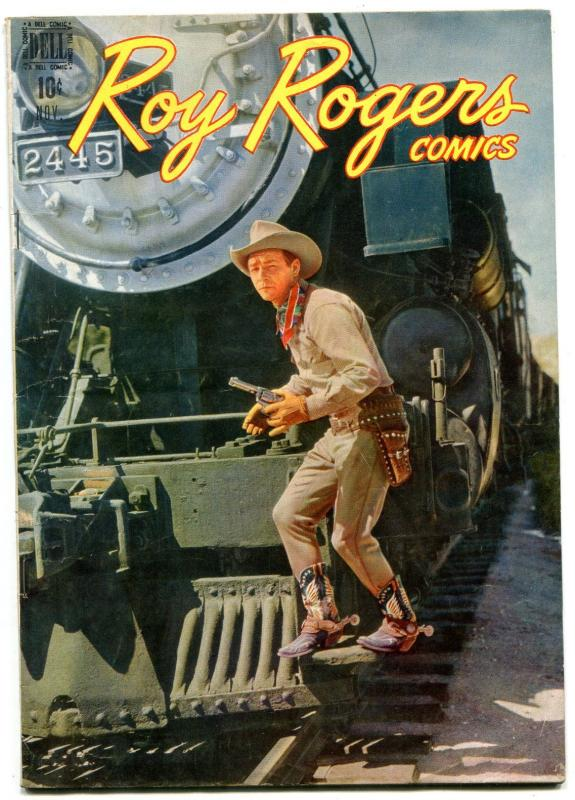 Roy Rogers #11 1948- Dell Golden Age Western - Photo cover F/VF