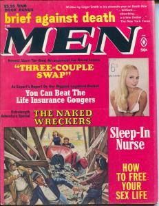 Men 2/1969-Atlas-pulp exploitation-cheesecake pix-spicy-Copeland-Cohen-FN/VF