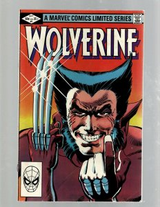 Wolverine Complete Marvel Comics LTD Series # 1 2 3 4 X-Men Frank Miller SB5