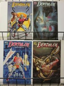 DEATHLOK (1990) 1-4  Dwayne McDuffie w/ Denys Cown