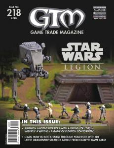 GTM Game Trade Magazine #218 (2018) - New!