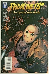 FRIDAY THE 13TH#2 VF/NM 2007 'HOW I SPENT MY SUMMER VACATION' DC COMICS