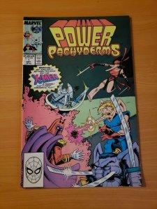 Power Pachyderms #1 One Shot ~ NEAR MINT NM ~ (1989 Marvel Comics)