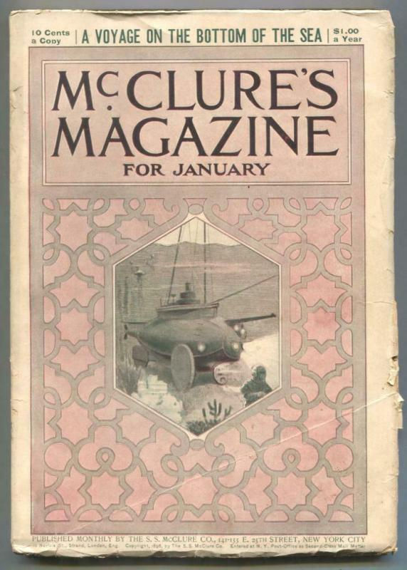 McClures Magazine January 1899- Voyage On The Bottom of the Sea