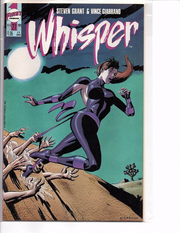 First Comics Whisper #27 & 28 (1989) Steven Grant Bruce Timm NM