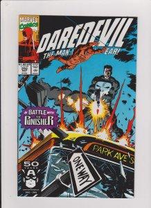 DAREDEVIL  #292 VF/NM 1991 MARVEL COMICS DD VS THE PUNISHER & TASKMASTER