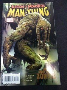 Marvel Legion of Monsters: Man-Thing #1 2007 Comic