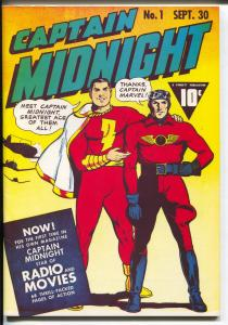 Flashback #37 1976-Reprints Captain Midnight #1 from 1942-NM