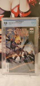 Dr. Strange # 5 CBCS 9.8 Variant Tedesco Cover LGY #395 Cosmic Ghost Rider App