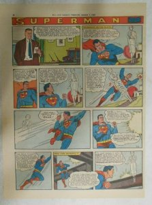Superman Sunday Page #1010 by Wayne Boring from 3/8/1959 Tabloid Page Size