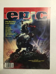 Epic Illustrated 34 Magazine Near Mint Nm Marvel Comics Group