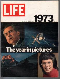 Life - Special Report Issue 1973-Year In Pictures-Nixon-Watergate-VF